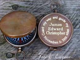 confirmation gifts for boys confirmation gift engraved compass baptism boy by baptismgifts