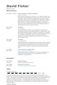 Data Architect Sample Resume by Intern Architect Resume Samples Visualcv Resume Samples Database