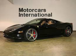 Ferrari 458 Black - 2012 ferrari 458 italia