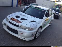 mitsubishi rally car mitsubishi evo 6 for sale rent rally cars for sale at raced
