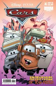 cars characters mater cars the adventures of tow mater 4 issue