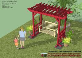 Swing Arbor Plans 25 Best Outdoor Furniture Plans Ideas On Pinterest Designer