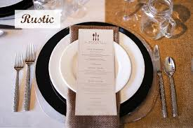 wedding plate settings wedding place settings and table design ideas encore events rentals