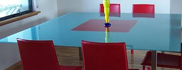 clear glass table top glass table tops two tone clear and back painted glass splash back