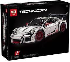 technic porsche 911 gt3 rs lepin 20001b porsche 911 gt3 rs white technic funbricks