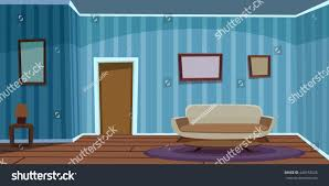 Retro Living Room Furniture by Retro Living Room Blue Stock Vector 440153026 Shutterstock