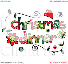 christmas ornaments clipart turkey dinner pencil and in color