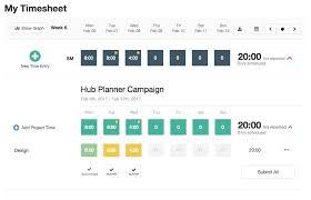 time design planner timesheets design ux update hub planner