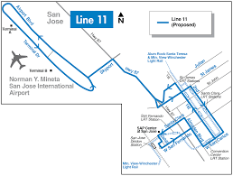 Map Of Bart Stations by Vta Proposing Two Year Plan With Overall Increase In Service