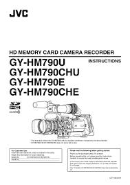 ub 04 manual jvc gy hm790e operation manual