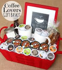 themed gift basket merry brides diy coffee theme gift basket ideas