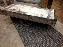rare 1911 metal factory cart e2 80 93 globe truck vise eric