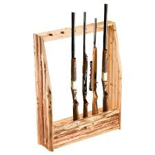 Free Wooden Gun Cabinet Plans Made Of Solid Pine With A Skip Peel Finish Thsi Rack Holds Up To
