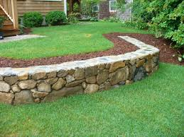 Patio And Garden Ideas Image Detail For Retaining Walls Stone Retaining Walls Yard