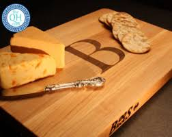 monogram cheese board personalized cutting board cowboy boots monogram on boos maple