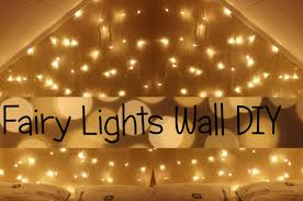 fairy lights wall headboard diy youtube