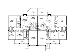 multi family house plans shadydale multi family duplex plan 007d 0020 house plans and more