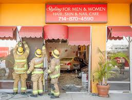 lexus service huntington beach lexus smashes into fullerton salon also damages smoke shop