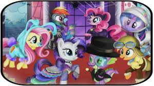 my little pony halloween party hd mlp games for kids youtube
