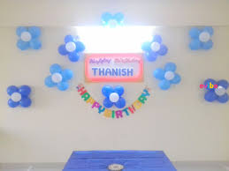 10 best decorations for home birthday party in hyderabad simple balloon decor