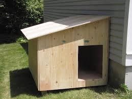 Houzd by How To Build A Dog House Free Plans Home Design