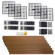 newtechwood daf 8 tk 8 64 square feet deck a floor modular