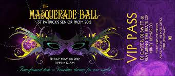 halloween masquerade party ideas masquerade prom ticket template template