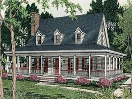 One Story Wrap Around Porch House Plans Small Country House Plans Home Design 3133 3133 Luxihome
