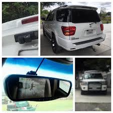 2003 toyota sequoia mirror backup install w parking sensor