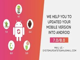 update android phone update update android version android apps on play