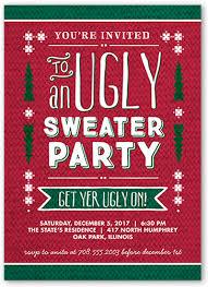 sweater 5x7 invitation invitations shutterfly
