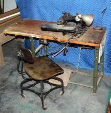 Antique Singer Sewing Machine Table Vintage Singer Sewing Machine Table And Chair