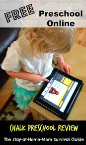 free preschool online chalk preschool review the stay at home