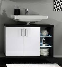 design waschbeckenunterschrank waschbeckenunterschrank hochglanz weiß schwarz