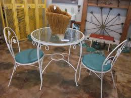 Antique Patio Chairs Cute Vintage Dining Set Sold Paper Street Market