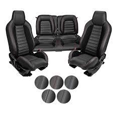 Recaro Upholstery Tmi Mustang Upholstery W Foam Sport R Hi Back Black Full Fb 2015 17