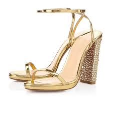 wedding shoes chunky heel gold chunky heel evening wedding shoes sandals sexyshoeswoman