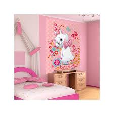 fresque murale chambre papier peint aristochats 219x312 cm chambre enfant
