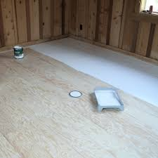 how to create beautiful plank flooring out of plywood after