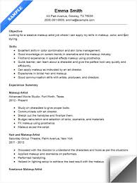Resume Examples For Cosmetology by Makeup Artist Resume Sample Resume Examples Pinterest Artist