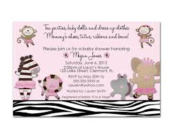 Gift Card Baby Shower Invitation Wording Cute Baby Shower Invitations For Babygirl1 Baby Shower Diy