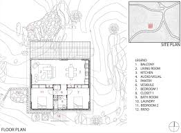 floor plan rock reach house mojave desert california usa