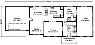 Floor Plans For Modular Homes Jefferson By Excel Modular Homes Two Story Floorplan