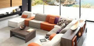mobilier de canapé cuir canape modulable mobilier de 97 salon mobilier de