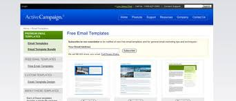 101 free e mail newsletter templates