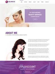 Makeup Artists Websites 50 Best Beauty Salon Website Templates Free U0026 Premium