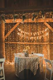 themed wedding decor 30 indoor barn wedding decor ideas with lights deer