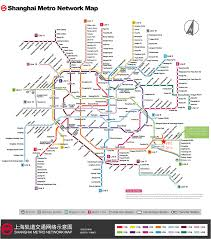 Shanghai Metro Map by Icfpt 2014