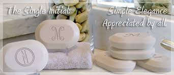 personalized soap original luxury personalized soap gift set single initial