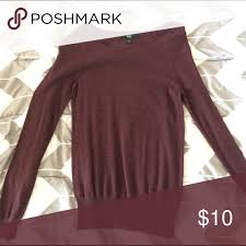 supply co sweaters maroon sweater worn a few times mossimo supply co sweaters crew